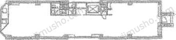 SVAX浜松町Ⅱビル4Fの間取図