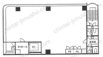 銀座KMビル6Fの間取図