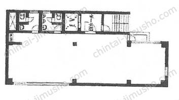 NAVAL/第37下川ビル6Fの間取図