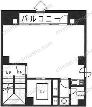 三番町ビル6Fの間取図