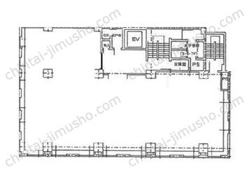 第7セントラルビル5Fの間取図