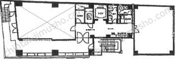 亜細亜観光ビル1Fの間取図