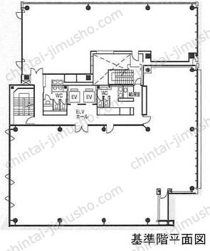 菱進銀座イーストミラービル3Fの間取図