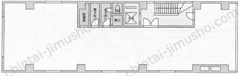 佐野ビルディング3Fの間取図