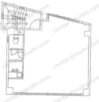第二夢工房ビル2Fの間取図