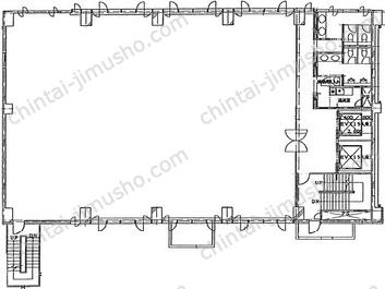 自重堂ビル2Fの間取図