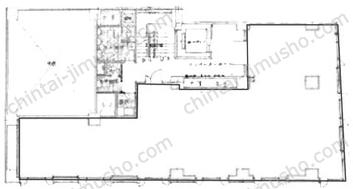 GINZA GS BLD.27Fの間取図
