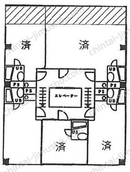 三光ビル5Fの間取図