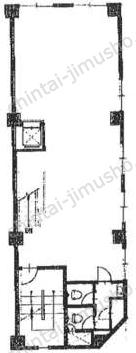 市川ビル2Fの間取図