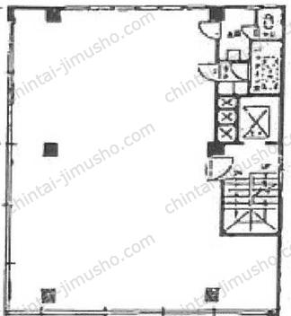 銀座芦澤ビル3Fの間取図