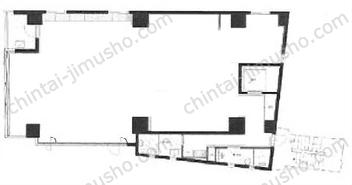 日本橋ノースプレイス3Fの間取図