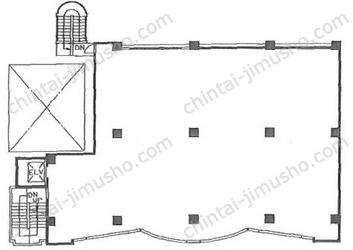 エイムビル5Fの間取図