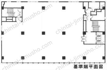 野村不動産溜池ビル5Fの間取図