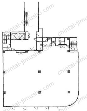 山田青山ビル3Fの間取図