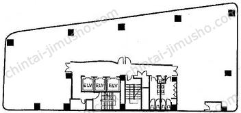 曙町新井ビルディング4Fの間取図