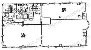 太田興産ビル新横浜3Fの間取図