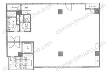 築地ファーストビル10Fの間取図