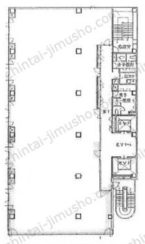 新横浜第2竹生ビル2Fの間取図
