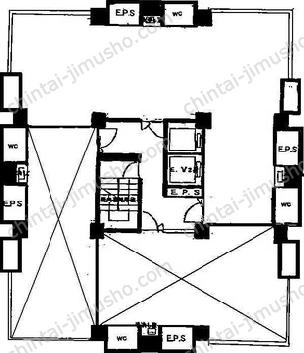 コイトビル7Fの間取図