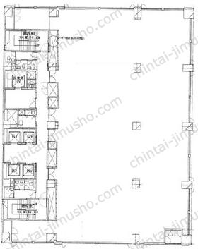 金子第2ビル3Fの間取図
