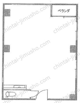三津和ビル3Fの間取図