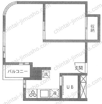 ラ・メゾン・ド・シャルー3Fの間取図