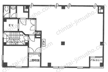 田端新町三丁目ビル3Fの間取図