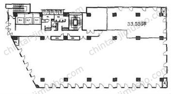 南品川Nビル5Fの間取図