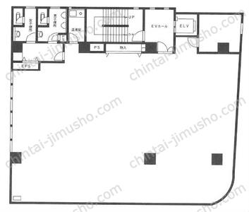 蔵前酒井ビル3Fの間取図