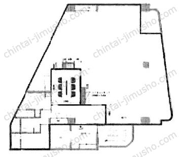 ペガソ21南品川ビル7Fの間取図