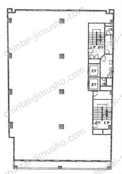 八重洲市谷ビル3Fの間取図