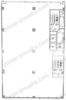 八重洲市谷ビル2Fの間取図