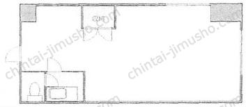 代々木村田マンション/村田第一ビル5Fの間取図