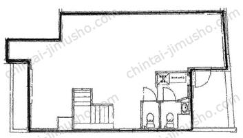 銀座三丁目ビル2Fの間取図