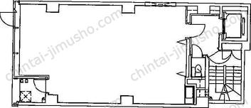 第3東邦ビル3Fの間取図