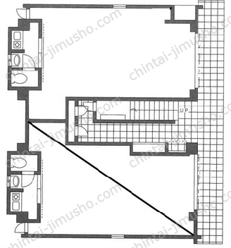 M HOUSE1Fの間取図