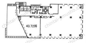 南品川Nビル2Fの間取図