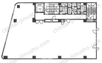 グランイーグル西蒲田第二ビル5Fの間取図