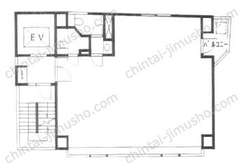 YUSHIMA3315 BLDG3Fの間取図