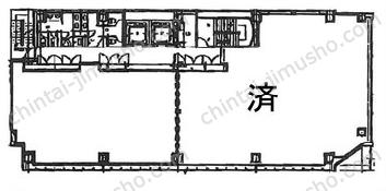 アーバス新横浜3Fの間取図