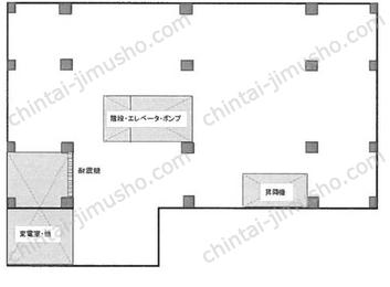 信川ハイツB1Fの間取図