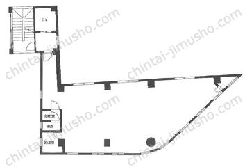 豊和本社ビル4Fの間取図