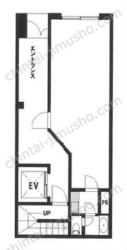 下島商会ビル1Fの間取図