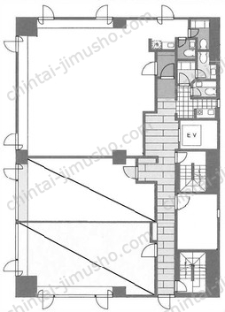 新川一丁目ビル4Fの間取図