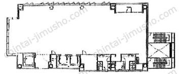 Tsao Hibiya7Fの間取図