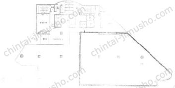 ファーレイーストビル2Fの間取図
