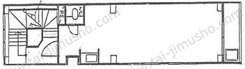 相模屋第1ビル2Fの間取図