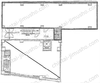 半蔵門ウッドフィールドビル1Fの間取図