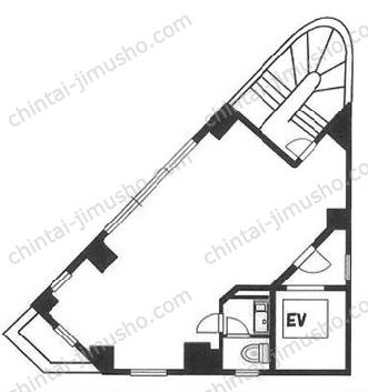 欅ビル8Fの間取図