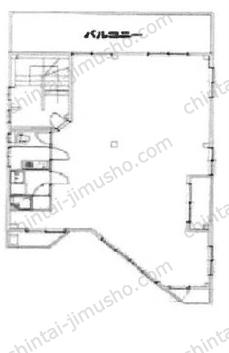市川ビル3Fの間取図